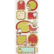 Santa's Little Helper Sticker Stackers By Imaginisce