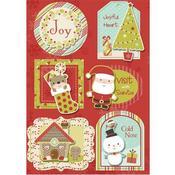 Winter Wonderland Sticker Stackers - Santa's Little Helper By Imaginisce