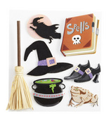 Witch Stickers By Jolee's Boutique