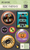 Trick Or Treat Snow Globe Stickers