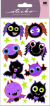 Bats And Spider Stickers