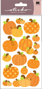 Pumpkin Sticko Epoxy Stickers