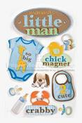 Little Boy 3D Stickers By Paper House Productions