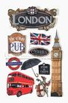 London 3D Stickers By Paper House Productions