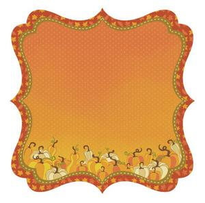 Squished Squash Die-cut Paper - Hello Fall By Best Creation
