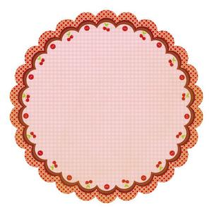Sweet Cherry Pie Die-cut Paper - Mom's Kitchen By Best Creation