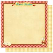 Mom's Kitchen  - Mom's Kitchen  Glitter Paper