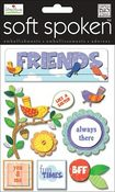 Friends Dimensional Stickers