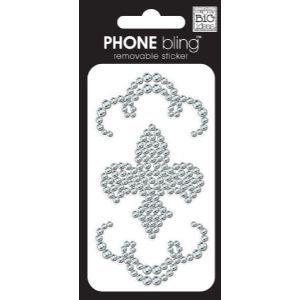 Fleur De Lies Cell Phone Bling