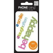 Be Happy Cell Phone Bling