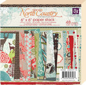 North Country 6 x 6 Paper Pad By Prima