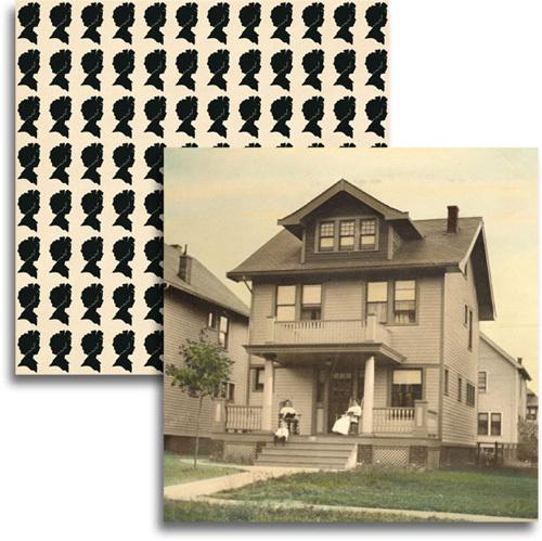 Betty's House Paper - Haven By Jenni Bowlin
