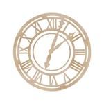 Roman Clock Face Wood Flourish By Kaiser Craft