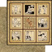 Alphabet Soup Paper - An ABC Primer By Graphic 45