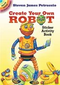 Create Your Own Robot Sticker Activity Book By Dover