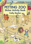 Petting Zoo Sticker Activity Book By Dover