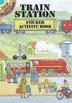 Train Station Sticker Activity Book By Dover