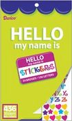 Hello Velvet Sticker Book By Darice