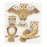 Steampunk Owls Stickers By Jolee's Boutique