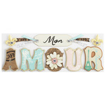 Mon Amour Sticker Saying By Jolee's Boutique