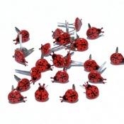 Mini Lady Bug Brads