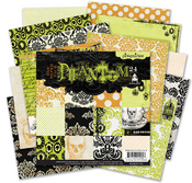 Phantom 6 x 6 Paper Pack By Pink Paislee
