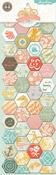 Nantucket Chipboard Sticker Tiles By Pink Paislee