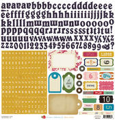 Random Alpha Labels Cardstock Stickers By Crate Paper