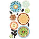 Citrus Flower Stickers