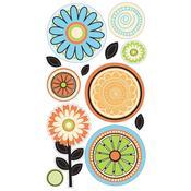 Citrus Flower Stickers