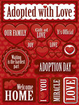 Adopted With Love Stickers By Reminisce