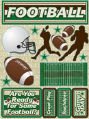 Football Stickers By Reminisce