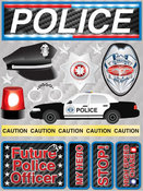 Police Stickers By Reminisce