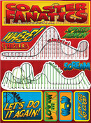 Coaster Fanatics Stickers By Reminisce