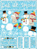 Let It Snow Stickers By Reminisce