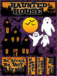 Haunted House Stickers By Reminisce