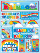 Rainbow Stickers By Reminisce