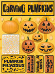 Carving Pumpkins Stickers By Reminisce