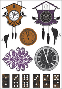 13th Hour Chipboard Stickers By Kaiser Craft