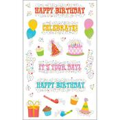 Happy Birthday Stickers By Mrs. Grossmans