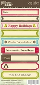 Christmas Eve Chowder Cardstock Stickers By Jillibean Soup