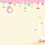 Bells Are Ringing Paper - Winter Fairy Tales By Webster's Pages