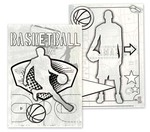 Basketball Canvas Colorables