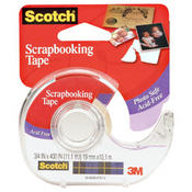 Single - sided Scrapbooking Tape By Scotch