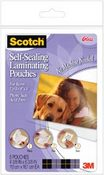 Gloss 4 x 6 Self - Sealing Laminating Pouches By Scotch