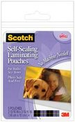 Gloss 2 x 3 Self - Sealing Laminating Pouches By Scotch