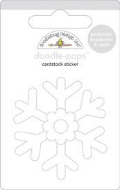 Snowflake  Doodle-Pop By Doodlebug
