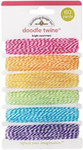 Bright Assortment Twine By Doodlebug