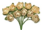 Honey Mini Paper Blossoms By Kaiser Craft