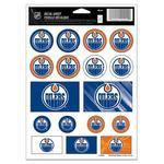 Oilers 5 x 7 Decal Sheet